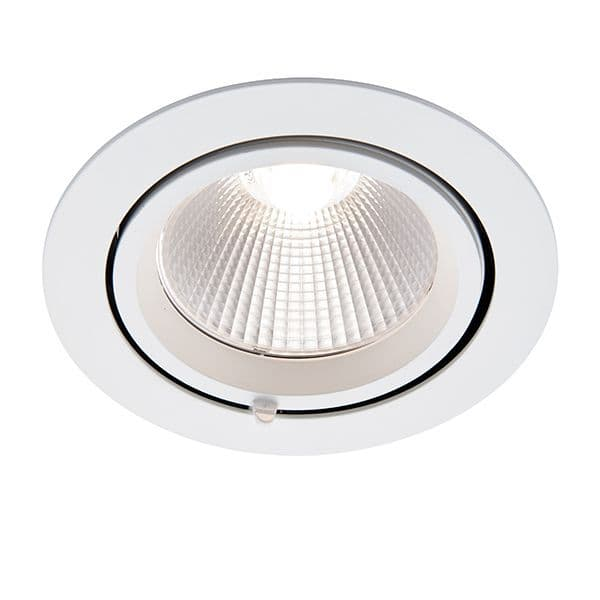 Saxby Axial Round 30w Cool White 78540 By Massive Lighting